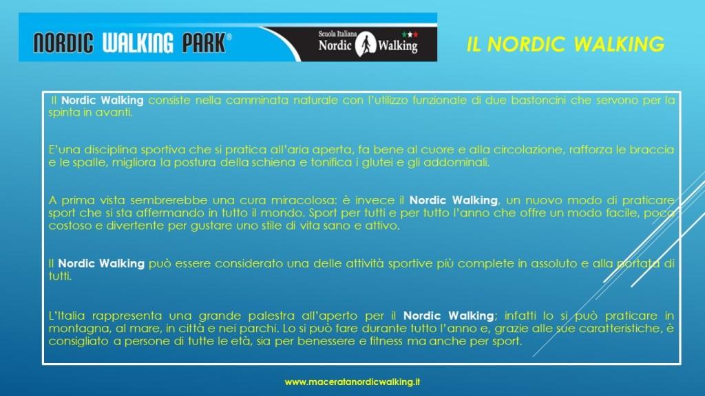 Che cos'è il Nordic Walking