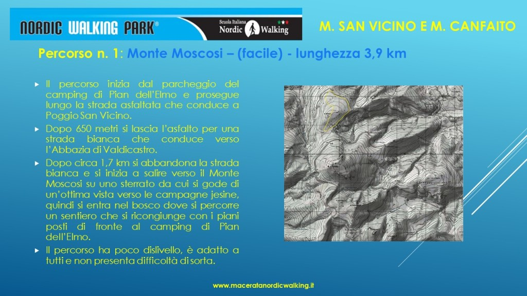 Percorso1- Monte Moscosi