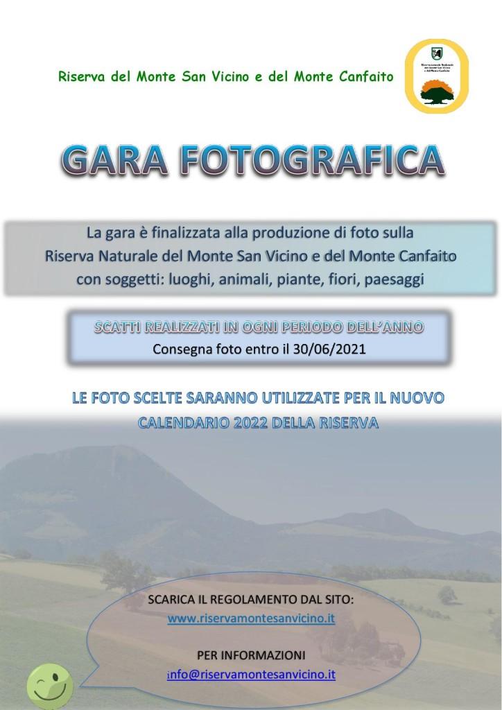 Gara fotografica 2021